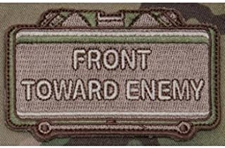 front toward enemy patch