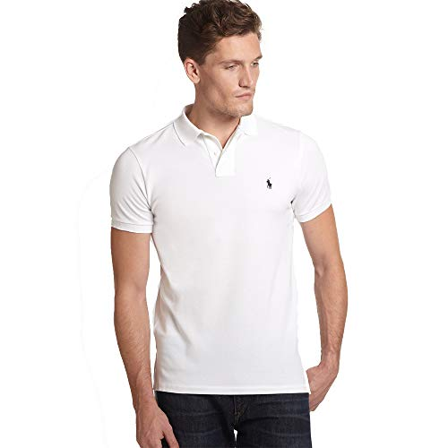 Ralph Lauren Polo Custom fit Small Pony (L, White)