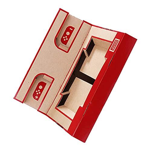 skrskr LABO NS Switch Case DIY Cardboard Holder Arcade Soporte para Nintendo Switch
