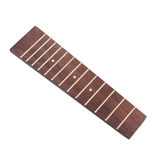 HEALLILY Diapasón de ukelele de 17 pulgadas para reemplazo de guitarra eléctrica Fender Strat