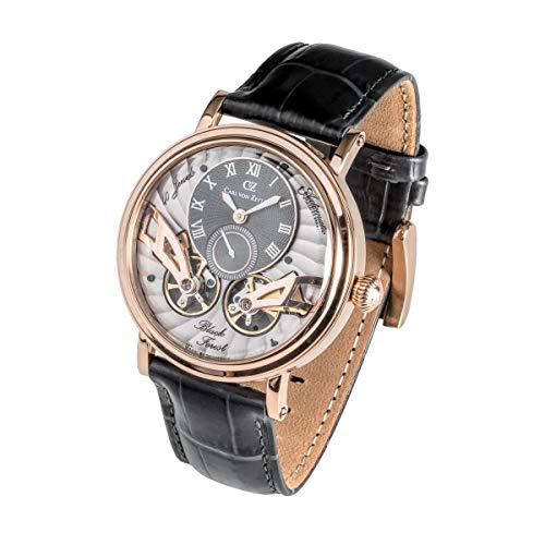 Carl von Zeyten Herren Uhr Armbanduhr Automatik Black Forest CVZ0017RGY