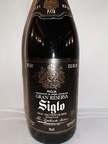 Siglo Gran Reserva 1974. Bodegas AGE. Fuenmayor La Rioja. Félix Azpilicueta Martínez
