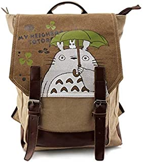 Totoro The animation Washed Canvas Backpack