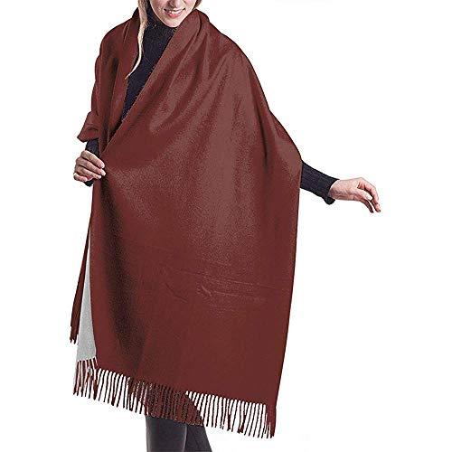 Nice-Guy Frohe kleine Schornstein Schal Wrap Winter warme Schal Cape große weiche gemütliche Kaschmir Schal Wrap Womans warme Schal Stola