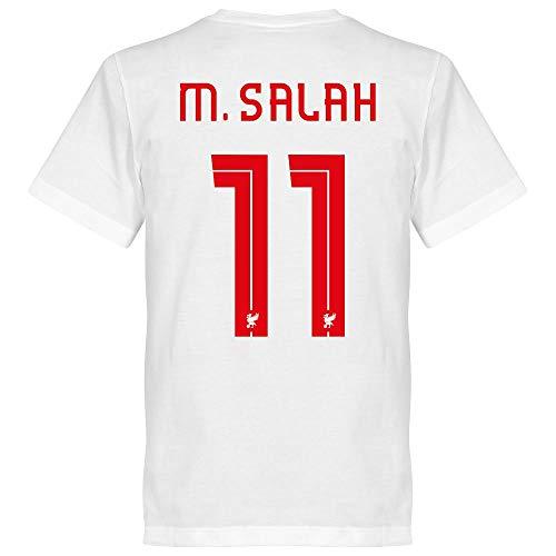 Liverpool Team Salah 11 T-Shirt - weiß - XL