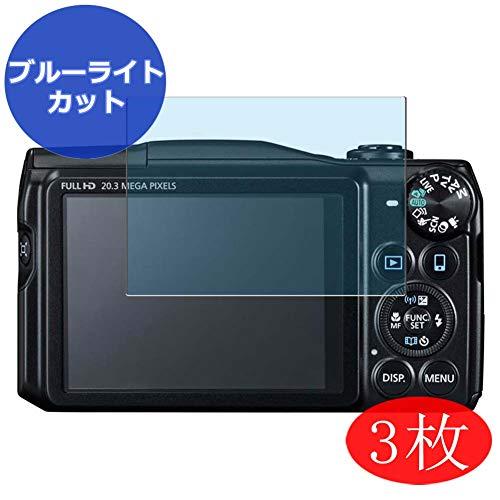 VacFun 3 Piezas Filtro Luz Azul Protector de Pantalla para Canon PowerShot SX710...