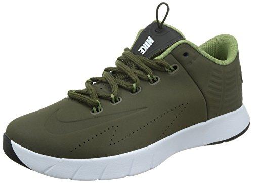 Nike Lunar Hyperrev Low EXT Men's Basketball Shoes DRK LODEN (11)