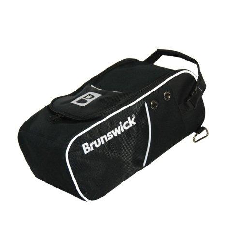 Brunswick - Sacca per Scarpe da Bowling, Colore: Nero