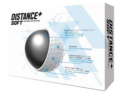 テーラーメイド(TAYLORMADE)Distance+Soft(ディスタンスプラスソフト)12PM7185601ホワイト