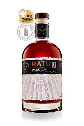 RATU Dark Rum, 5 Jahre, 40{57fd25214e5d69006ab0a8a836735d180c0ca585bc469533dc0ba95f2fcf858f}, 700 ML