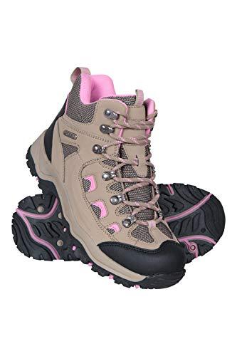Mountain Warehouse Adventurer Womens Waterproof Hiking Boots Beige Womens Shoe Size 8 US