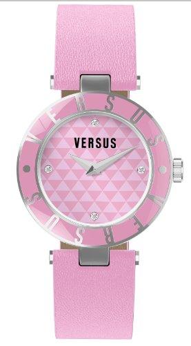Versus by Versace dames analoog horloge met roestvrij staal gecoat armband 3C7150 0000