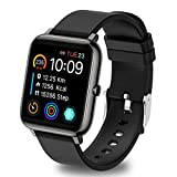 UWINMO Smart Watch for Android and iOS Phones, Sports Smart Watch with Blood Pressure & Heart Rate Monitoring , Sleep Monitor,Pedometer with Message Notification , Smart Watch for Men & Women(Black)