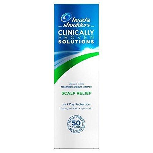 Zwei Packungen von HEAD & SHOULDERS Lösungen Kopfhaut Relief Persistent Schuppen Shampoo 250ml