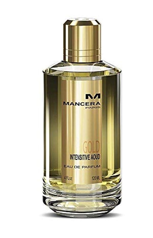 扇動経済避けるMancera Gold Intensive Aoud Eau de Parfum 4.0 oz./120 ml New in Box
