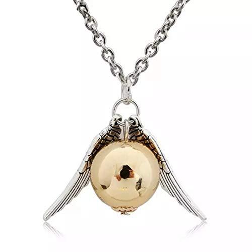 Colar Harry Potter Pomo De Ouro Vira Tempo Hermione