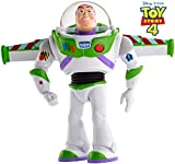 Disney Pixar Toy Story Ultimate Walking Buzz Lightyear, 7 Inch Tall Figure with 20+ Sounds and Phrases, Walking Motion and Expandable Wings