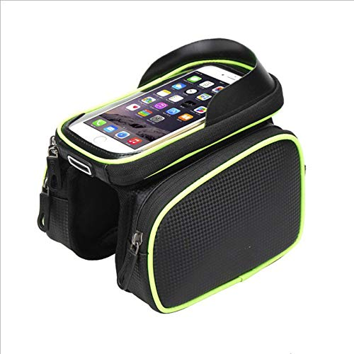Fiets mobiele telefoon tas mountainbike tas zadel tas fiets tas touch screen tas fiets bovenste buis tas