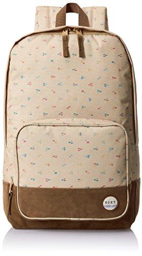 Roxy Pink Sky - Printed Backpack - Mochila - Mujer - ONE SIZE - Beige