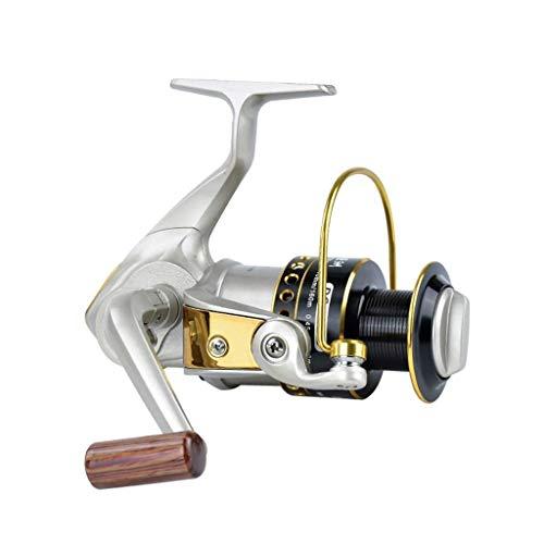 XZJJZ Rueda Pesca - Spinning Wheel mar Nutria Metal Copa Carrete de Alambre de la Pesca Lanzar Caña de Pesca de línea de Acero Inoxidable Rueda Calamar Pesca (Color : 6000)