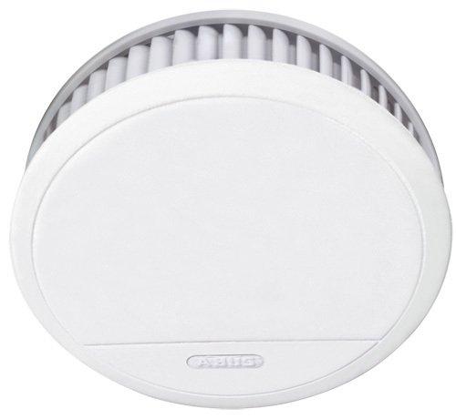 ABUS Rauchmelder RM20 Brandmelder mit Hitzewarnfunktion | geeignet für Küche und Schlafzimmer | 12 Jahre | weiß | 55047