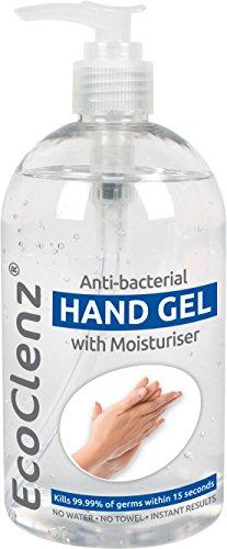 Gel igienizzante mani con idratante, elimina il 99,9%...