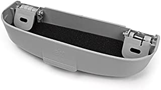 nopnog KFZ Sonnenbrille Halterung Sonnenblende Verschluss Clip Brillenetui Grau