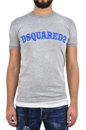 Dsquared 2 T-Shirt DSQUARED2 für Herren, grau, Logo, Grau Medium