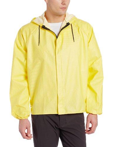 O2 Rainwear Original Hooded Jacket, Yellow, X-Large