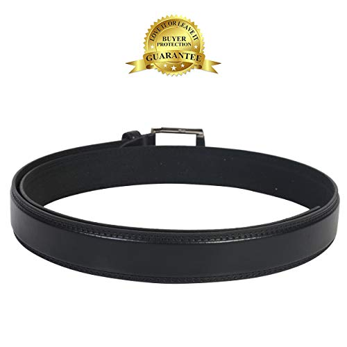 BIG & TALL - Men's Leather Belt, size 54-56