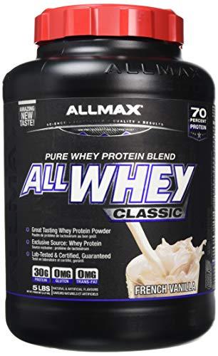 Allmax Nutrition Allwhey Vanilla Protein Powder2.27kg