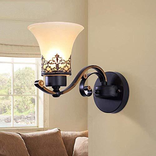 Giow Kaminwand aus Eisen Lamp Nordic Creation - Schlafzimmer Nachttischlampe Decor Flur Treppe Restaurant Wandleuchte (2 Modelle erhältlich) - Zellwandbeleuchtung