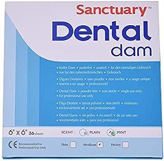 Dental Rubber Dam for Oral,Mint Flavor,Medium 6