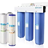 APEC 3-Stage Whole House Water Filter System with Sediment, KDF and Carbon Filters...