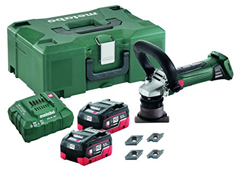 Why Should You Buy Metabo - 18V 1/8 Chamfer/Radius Tool Kit 2X 5.5Ah Lihd (601754750), Beveling T...