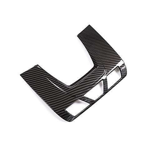 HUAER Ajuste para BMW 1 2 3 Series 3GT F30 F34 x1 F48 x5 x6 F15 F15 F16 Fibra de Carbono Textura Frontal de Techo de Techo de Lectura de Lectura