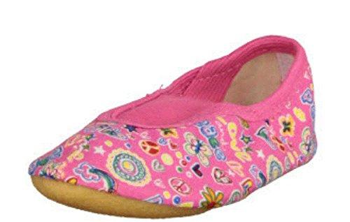 Beck Happy, RIST, Zapatillas de Gimnasia para Niñas, Rosa - Pink (Pink 06), 29 EU