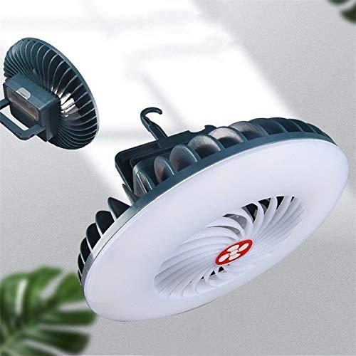 WJH USB lámpara Recargable del Ventilador Transmisión en Vivo multifunción Tienda de campaña de la lámpara