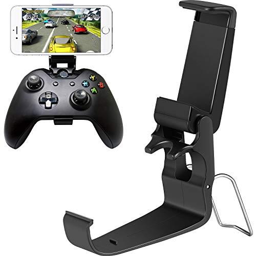 2 Stück Klapp Kontroller Clip Handyhalter Smart Phone Game Clamp für Xbox One Controller