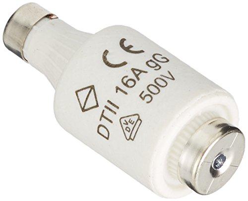 Kopp Sicherungseinsatz Diazed DII, 5 Stück in SB-Verpackung, E27, 16 A, 325300083