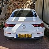Alerón Trasero de Coche ABS Trasero Techo Maletero Spoiler para Mercedes Benz CLA Class W118 2019-2020 CLA250 CLA200 CLA220, Cola Lip Spoiler Techo ala AleróN Auto Accesorios Decorativos