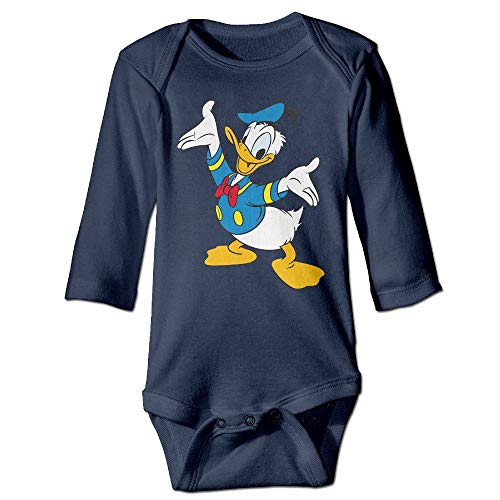 Stylish Home Donald Duck Baby Langarmshirt Gr. 6-12 Monate, mehrfarbig