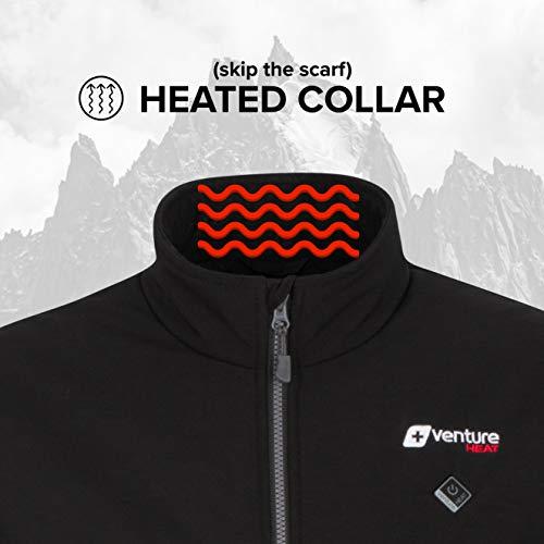 Venture Heat Outlast 2.0 Veste chauffante avec batterie pour homme - Noir - Taille XL