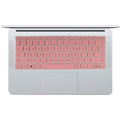 TUANZI Silicone Keyboard Cover Lavable Portátiles de Silicona Teclado Cubierta Protectora de la Piel for Huawei MateBook D 14 Pulgadas (AMD) Notebook D14 W50F W00D 14.0 '' Waterproof and dustproof