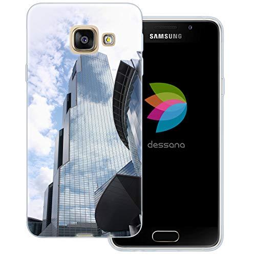 dessana Seoul Südkorea transparente Schutzhülle Handy Case Cover Tasche für Samsung Galaxy A3 (2016) Korea World Trade Center