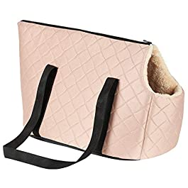 Me & My Pets Rose Gold Quilted Pet Carrier