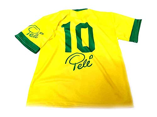 Generico Gedenk-T-Shirt, ohne Marke, bedruckt, T-Shirt, Brasilien, preisgünstig, ohne Logos und Marke für diejenigen, die sich nicht mehr wünschen wollen., Gelb S