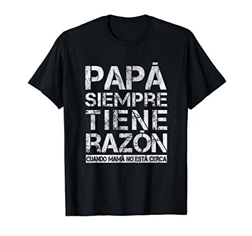 Hombre Regalo Para El Dia Del Padre En Espanol Feliz Papa Abuelo Camiseta