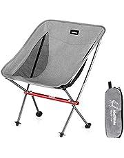 Naturehike アウトドアチェア 超軽量 キャンプ椅子 折りたたみ コンパクト イス 背もたれ お釣り ピクニック ハイキング 収納バッグ付 耐荷重150kg