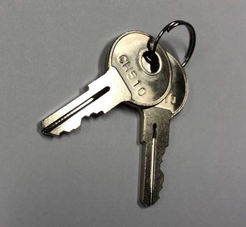 ONLY Toolbox Keys Code Cut CH501 to CH510 Truck Tool Box Lock Key 2 UWS